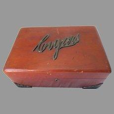 Antique Cigar Box, Humidor, Gentleman's Smoking Accessory