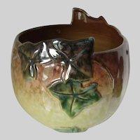 Rare Roseville, Ivy Leaf Hanging Basket, Planter, Bowl or Vase