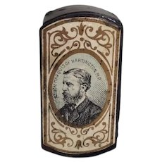 Antique Snuff Box, Match Safe,Lieutenant-Colonel Lord Edward Cavendish MP