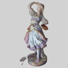 Antique 19thC French Vion Baury Bisque Porcelain Figurine Paris, France