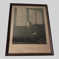Antique Print, Johannes Brahms, Music Composer, German Engraving