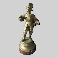 Antique Cabinet Bronze Sculpture of a Spanish Conquistador