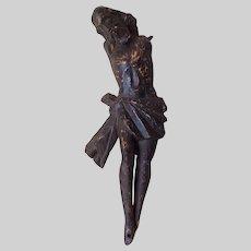 Antique Spanish Santos, Corpus, Hand Carved Christian, Christ
