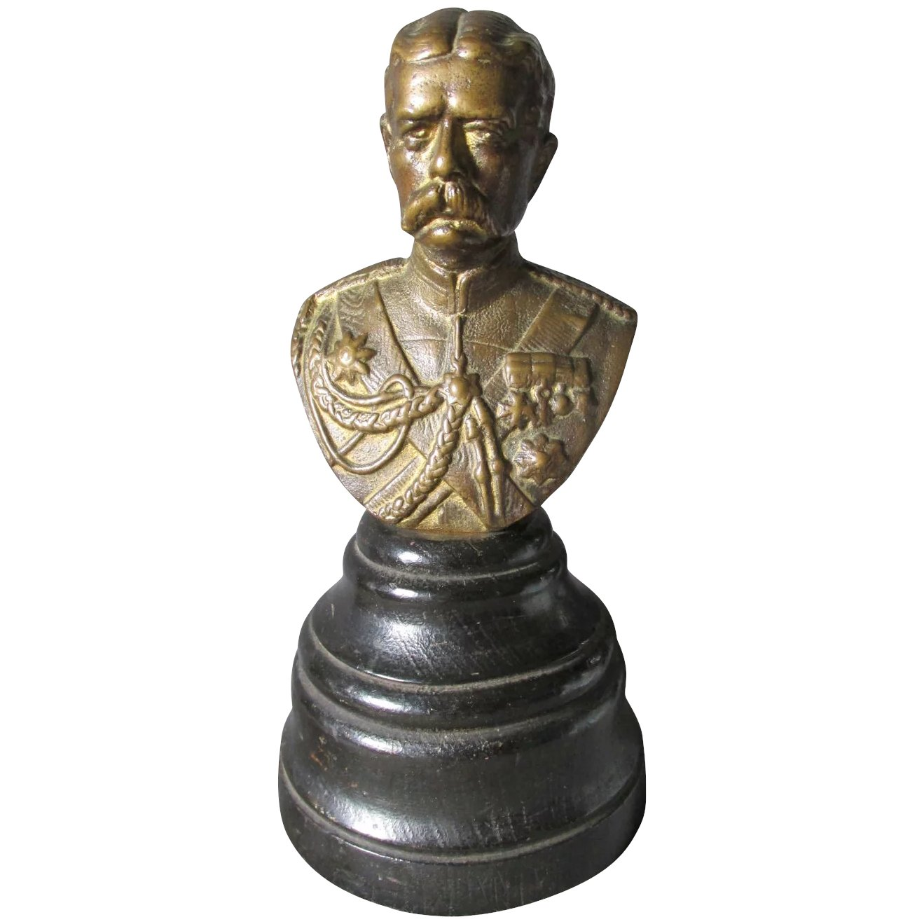 Bronze Bust of Field Marshal Horatio Kitchener, Military WWI SOLD ...