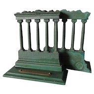 c1920 Temple of Saturn Bradley & Hubbard Bookends