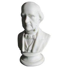 Antique Parian Porcelain Bust of an Important Gentleman