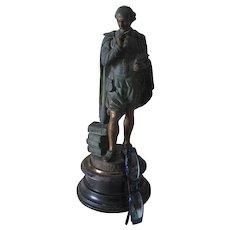 Antique 19thC Sculpture of William Shakespeare