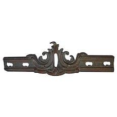 Antique 19thC Victorian Bronze Architectural Element, Garden Decor