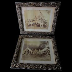 Lovely Pair c1880s Aesthetic Movement Picture Frames, Mirror or Art Work Frame