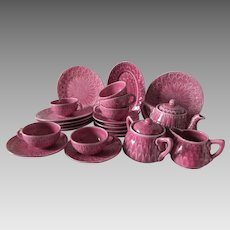 Circa 1920-30s Doll or Child's Tea Set for 6