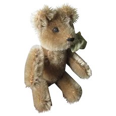 Antique Miniature Mohair Teddy Bear in Very Good Condition