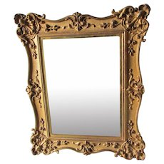 Lovely Antique Gilt Mirror, Picture Frame by Bradley & Hubbard