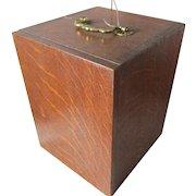 Antique Oak Presentation Box for Chalice, Trophy or Cup, Goblet