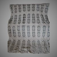 Fine Antique European Hand Made Lace Tablecloth & 2 Runners