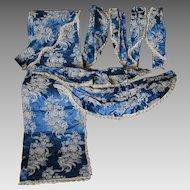 8 Piece Elegant Hollywood, Art Deco Curtain Valances, Drapery Panel