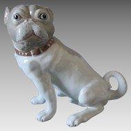 First Edition, Seymour Mann Museo,  Pug Dog Figurine, 1974 Signed