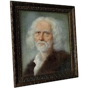 Fine Antique Miniature Painting of a Bearded Gentleman