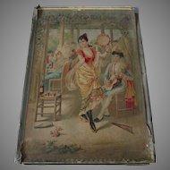 Antique c1898 Victorian Puzzles in Original Box, 3 Different Puzzles