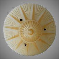 c1920s Art Deco Ceiling Lamp with Jazz Age Design