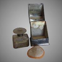 Antique c1920s Vantines Sweet Pea Perfume Bottle, Original Box
