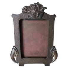 Art Deco, Egyptian Revival Picture Frame with Camel