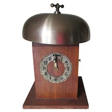 Old Masonic Bell, Clock, Timer, Fraternal Lodge Accessory