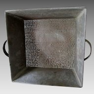 Large Antique 19th Century Strainer, Hand Made by Tinsmith