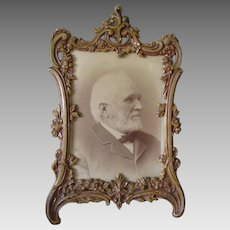 Lovely Antique Victorian French Rococo Picture Frame