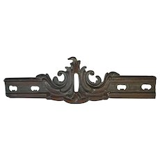 Antique 19thC Victorian Bronze Architectural Element