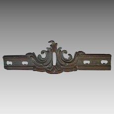 Antique 19thC Victorian Bronze Architectural Element