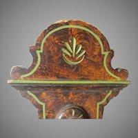 Circa 1880s Victorian Cottage Architectural Element, Original Grain Paint