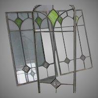 Antique Arts & Crafts, Art Nouveau Stained Glass Windows, Jungenstil