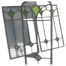 Antique Arts & Crafts, Art Nouveau Stained Glass Windows, Jungenstil