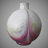 Antique Art Nouveau, Art Deco Vase,  Signed Scailmont Manage, Belgium
