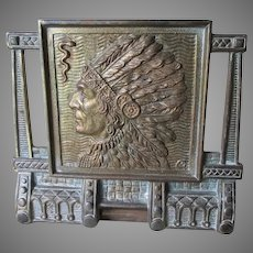 Antique Arts & Crafts, Mission Native American Indian Bookends