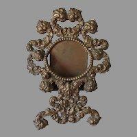 Antique Pocket Watch Holder with Gargoyle, Northwind Face