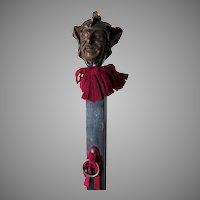 Antique Devil Head Match Safe, Pipe Holder, Display Rack