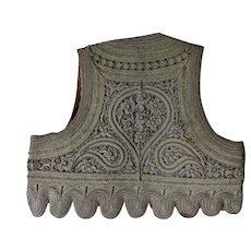 Antique 19thC Turkish Ottoman Yelek, Jelek Metallic Embroidered Vest