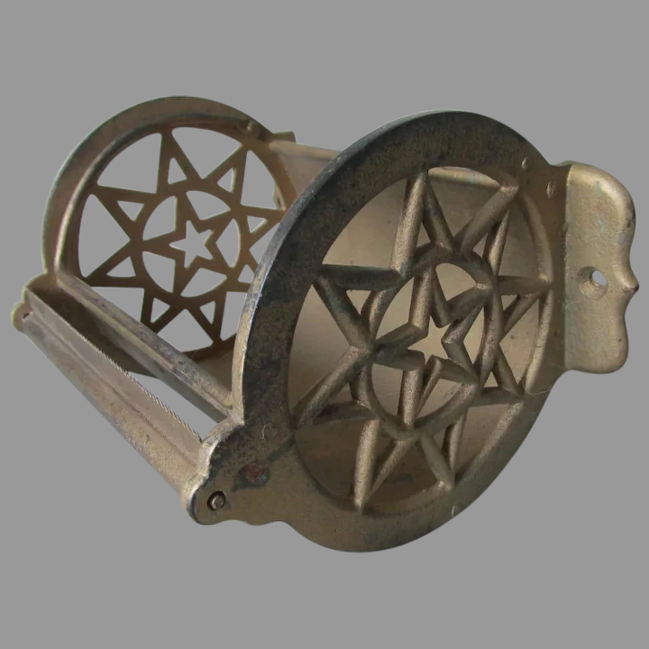 Toilet Paper Holder With Star Motif