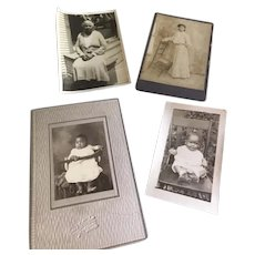Edwardian African American Woman and Family Photos