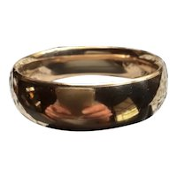 Wide Vintage Gold Filled Bangle