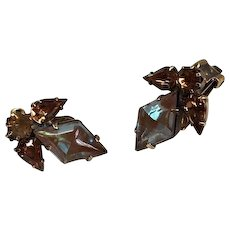 Juliana by Delizza and Elster Saphiret Earrings