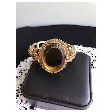 Juliana Topaz Clamper Bracelet by D&E