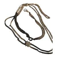 Victorian/Edwardian Gold Filled Muff/Watch Chain