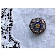 Early Italian Mosaic Pin
