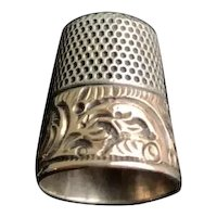 14K and Sterling Ketchum and McDougall Thimble