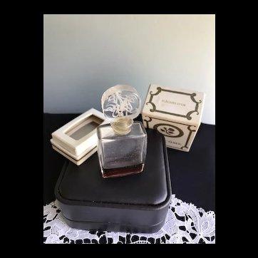 Rare Lancôme Vintage Fleches D'or Parfum in Box 1930's