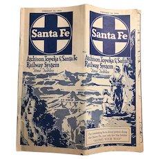 Atchison Topeka & Santa Fe Railway Booklet February 1943