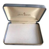 Crown Trifari Jewelry Box