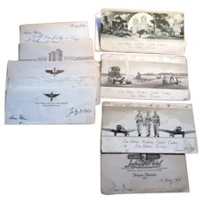 World War II Letters of San Antonio Aviation Center Cadet